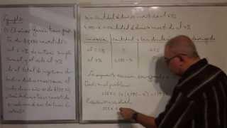 Algebra Intermedia - Lección 46 - A (problemas Verbales De Inversiones)
