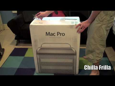 chillafrilla - My Complete HD 720p Unboxing and Hands-On of Apple's Latest 2012 Mac Pro! This version brings in a hefty load of performance to the Mac Pro line, bringing in...