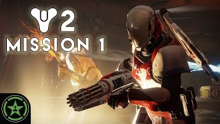 Michael, Jack, Jeremy, and Alfredo sit down with the Destiny 2 Beta to check out the first campaign mission. Watch as the Tower falls to pieces and the Traveler gets humped.Join FIRST for exclusive AH content: http://bit.ly/297NU2T  Get yer AH merch: http://bit.ly/2dyyJUnRooster Teeth Store: http://bit.ly/29dfk7NAchievement Hunter: http://achievementhunter.comRooster Teeth: http://roosterteeth.comRTX: http://rtxevent.comBusiness Inquiries: http://bit.ly/1DZ77uySubscribe to the Achievement Hunter Channel: http://bit.ly/AHYTChannelSubscribe to the Let's Play Channel: http://bit.ly/1BuRgl1Subscribe to the Funhaus Channel: http://bit.ly/1GiGly1Subscribe to the Cow Chop Channel: http://bit.ly/2cYnFP6Subscribe to the ScrewAttack Channel: http://bit.ly/2dmfBLcSubscribe to the Kinda Funny Channel: http://bit.ly/2cNKergSubscribe to The Creatures' Channel: http://bit.ly/2d9BqrQSubscribe to the Game Attack Channel: http://bit.ly/2dukAnSSubscribe to the Rooster Teeth Channel: http://bit.ly/13y3GumSubscribe to the Slow Mo Guys Channel: http://bit.ly/OqINYxSubscribe to the Red vs. Blue Channel: http://bit.ly/RvBChannelSubscribe to The Know's Channel: http://bit.ly/1zhUav4Watch RWBY: http://bit.ly/1rCOzuhWatch Red vs. Blue: http://bit.ly/1qJ9ik6Watch RT Animated Adventures: http://bit.ly/1ottZdfWatch Camp Camp: http://bit.ly/24WvlSNWatch RT Life: http://bit.ly/1qLMxZBWatch RT Shorts: http://bit.ly/190OLL7 Watch Immersion: http://bit.ly/27bRPDqWatch Lazer Team: http://bit.ly/Roosterteeth