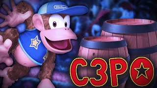 """Jungle Madness"" – A Diddy Kong Combo Video feat. C3PO"