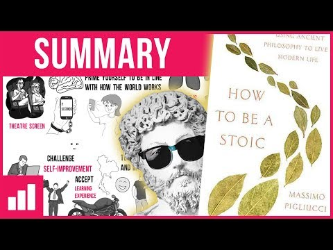 How to Be a Stoic: 12 Practical Exercises ► Book Summary
