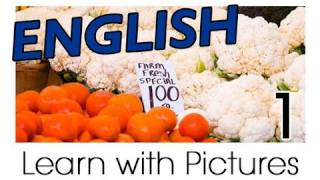English Vegetable Vocabulary, Learn English Vocabulary With Pictures
