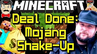 Minecraft News MOJANG DEAL DONE, Company Shake-Up&Notch Leaves Forever!