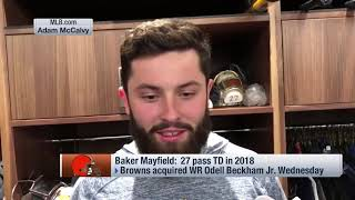 Cleveland Browns quarterback Baker Mayfield: 'It's an exciting time in Cleveland'