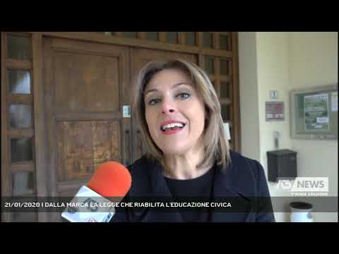 21/01/2020 | DALLA MARCA LA LEGGE CHE RIABILITA L'EDUCAZIONE CIVICA