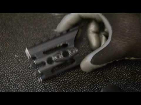 3D Printed Keymod QD Sling Point Mount (видео)