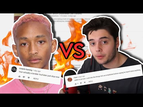 How Jaden Smith Destroyed my Channel (Reacting to your comments)