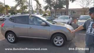 Autoline's 2008 Nissan Rogue SL Walk Around Review Test Drive