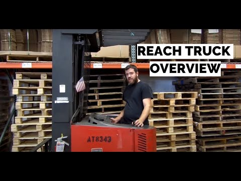 Raymond Reach Truck | Basic Training Crash Course | Control Overview
