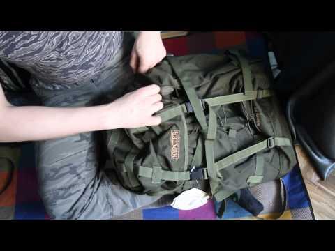 Рюкзак для охоты и рыбалки Nova Tour «Контур 75». Видеообзор.