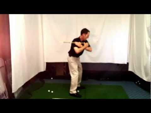 Shoulder Move in Golf Swing – Downswing Golf Lesson by Herman Williams