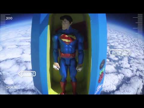 Superman Space Travel