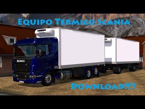 Scania 6x4 Thermo v1.0