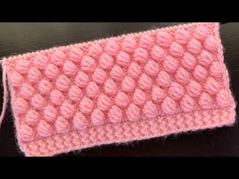 Rose Bud Knitting Stitch Pattern