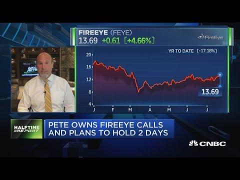 Options traders bet on FireEye