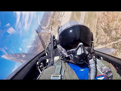 Follow the F-22 Demo Team https://www.youtube.com/channel/UCDjvi-_c_ffte2LaNaE2j8g  @f22demoteam...