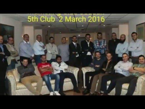 Marketing Club Jeddah 5th Meeting 2 March 16.Mahmoud Bahgat