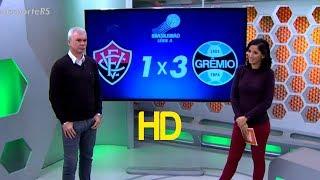Curta - https://www.fb.com/OsGolsHDSiga - https://twitter.com/OsGolsHDGols, Vitória 1 x 3 Grêmio - Brasileirão 19/07/2017 [HD]Globo Esporte RS Completo HD 20/07/2017 Homenagem do Globo Esporte RS a Paulo Sant'ana 20/07/2017