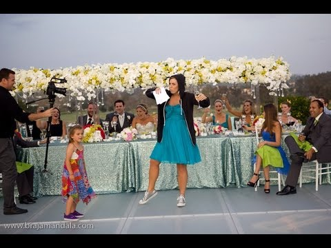 If you cannot get Eminem at your wedding...Get this chick!