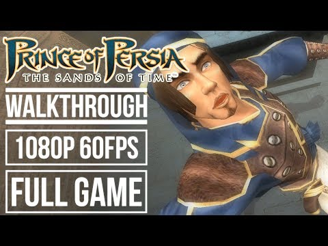 PRINCE OF PERSIA THE SANDS OF TIME Gameplay Walkthrough FULL GAME No Commentary (1080p HD 60fps)