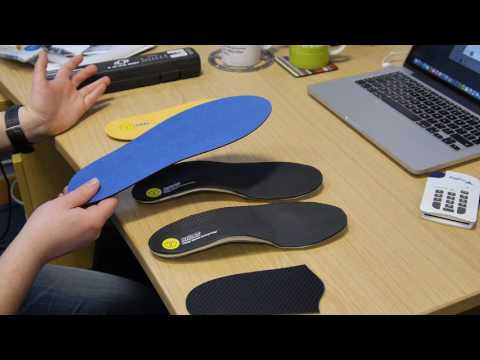 Sidas custom cycling insoles from Yorkshire Bike Fitting