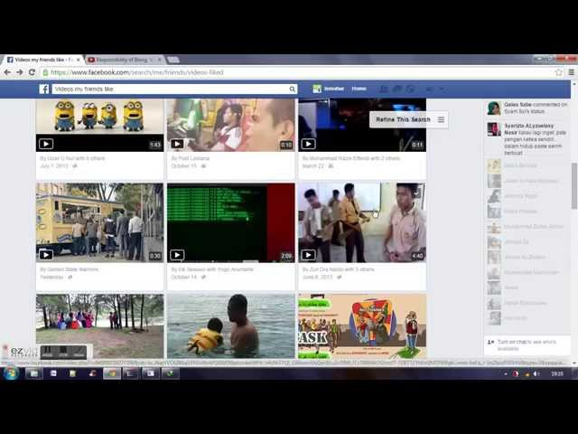How To Downlod Video On Facebook Cara Download Video Di Fb ...