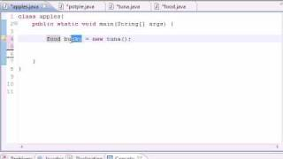 Java Programming Tutorial - 55 - Intoduction To Polymorphism