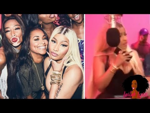 Nicki Minaj GOES OFF On Her Record Label At Her Queen Album