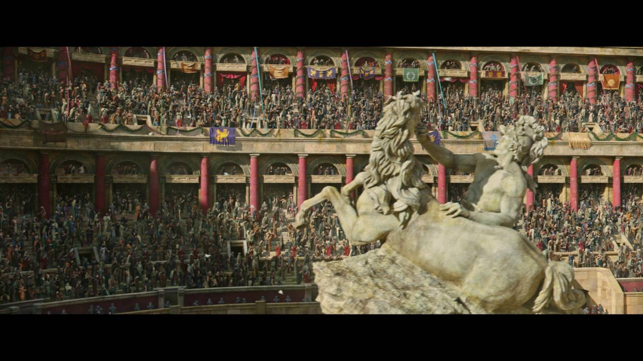 If you lose, you die. Jack Huston & Morgan Freeman start a revolution in 'Ben-Hur' [Trailer]