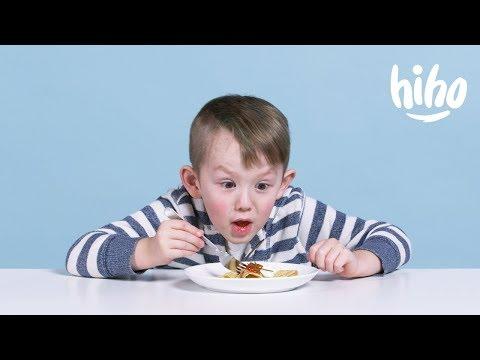 Американские дети пробуют русскую еду