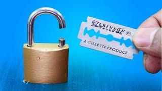 Video 3 Ways to Open a Lock MP3, 3GP, MP4, WEBM, AVI, FLV Juli 2019