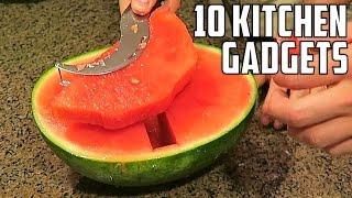 Video 10 AMAZING Kitchen Gadgets You Should Try! MP3, 3GP, MP4, WEBM, AVI, FLV Oktober 2018