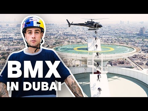 Bmx Riding Dubai's Most Famous Landmarks | With Kriss Kyle