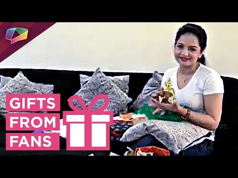 Giaa Manek Receives Gifts From Her Fans | Gift Seg
