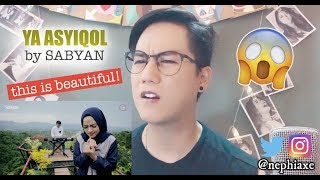 Video YA ASYIQOL BY SABYAN | REACTION MP3, 3GP, MP4, WEBM, AVI, FLV Agustus 2018