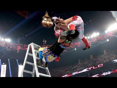 The New Day vs Los Usos vs Lucha Dragons Español Latino TLC Lucha Completa  by:Niiels