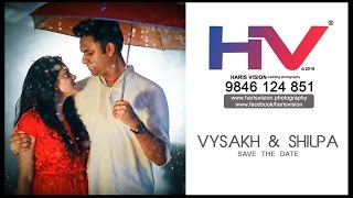 save the date video _ vysakh & shilpa _ HARIS VISION 2016