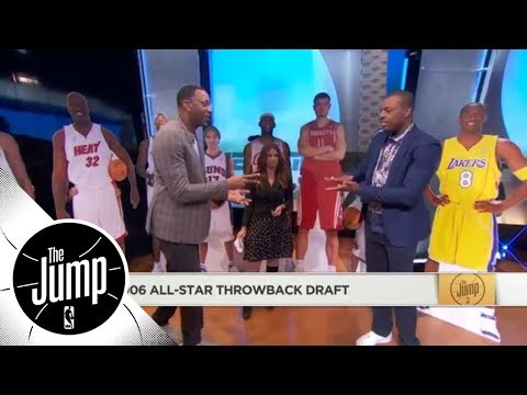 Tracy McGrady and Paul Pierce do hilarious 2006 All-Star throwback draft | The Jump | ESPN