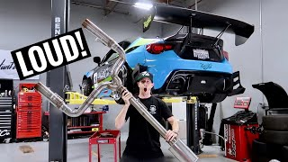 WORLD'S LOUDEST BRZ EXHAUST GETS UPDATED! by TJ Hunt