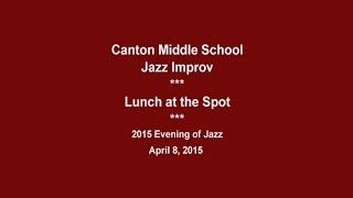 Canton CT Middle School Jazz Improv -