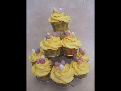 cupcake di pasqua - la video ricetta
