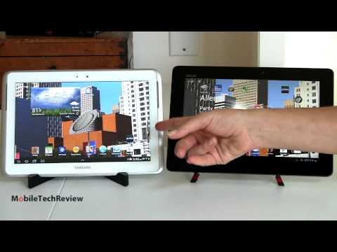 Samsung Galaxy Note 10.1 vs. Asus Transformer Pad Infinity TF700 Comparison Smackdown
