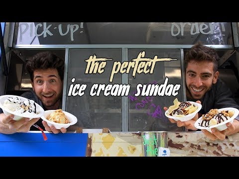 The Art of the Perfect Ice Cream Sundae