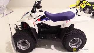 10. 2016 Suzuki QuadSport Z50 Sport ATV - Walkaround - 2015 Salon de la Moto Paris