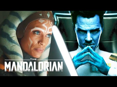The Mandalorian Season 2 Ahsoka Tano vs Thrawn Teaser Breakdown and Star Wars Easter Eggs