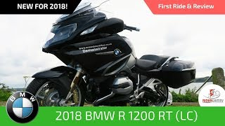 6. BMW R1200 RT 2018 - First ride and review