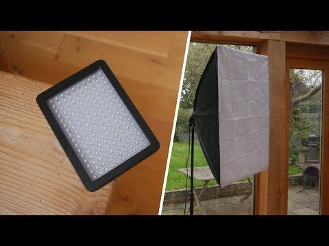 Softboxes vs LED Panels:  Which is the best for lighting?