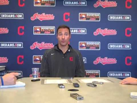VIDEO: Tribe GM Chris Antonetti on final roster decisions