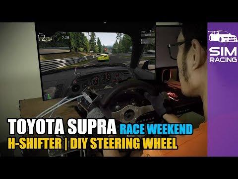 DIY Steering Wheel - Race Weekend - Nordschleife - Nürburgring   Assetto Corsa