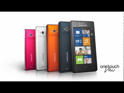 Alcatel Publishes Video Promo for Windows Phone 7.8-Based One Touch